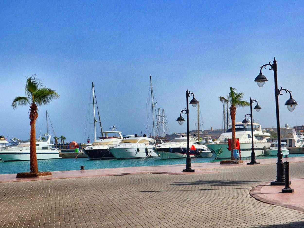Marina w Hurghadzie