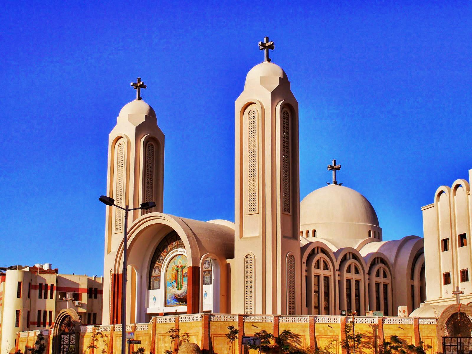 kościół koptyjski Hurghada